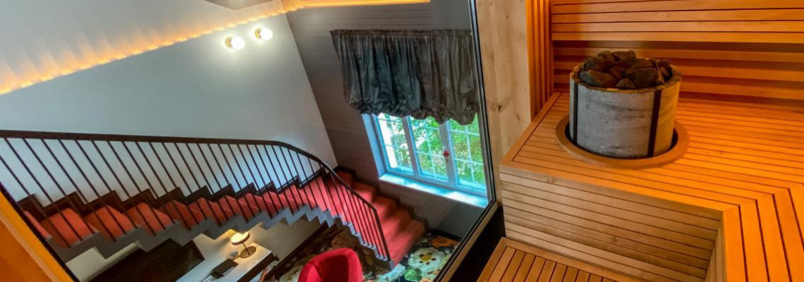 Royal Suite with sauna and hydromassage bath